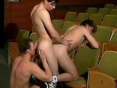 Gay group sexual act