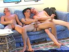 Six naughty twinks having a admirable time of love
