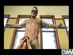 Landon Conrad Tied Up And Edged - Infatuation Men