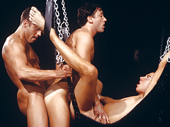 triple clammy men enraptured in a tight, satisfying daisy-chain!