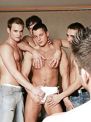 Glen Santoro::Julian Vincenzo::Adam Kubick::Jose Scott::Joe Donovan in Homosexual XXX Photos