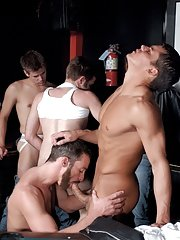 Colby Taylor::Tony Bishop::Justin Gemineye::Blu Kennedy::Jason Spear::Roman Heart::Troy Apollo in Gay XXX Pics