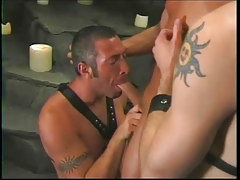 Farmer anal humps his twofold poor captives in 2 episode