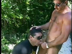 Wanking perv sucks off 2 cops in 3 episode