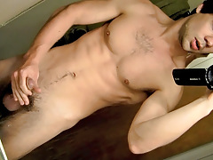 POV Cock Stroking In The Shower-room - Zack Randall