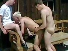 Handsome fruits in anal act