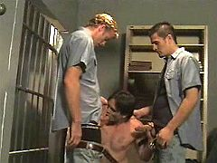 Every novice prisoner has to blow off homosexual guards