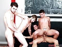 Orgy w Vadim, Brandon, Zeno, Blake