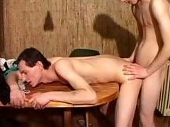 Amateur man-lovers fuck number 1 time