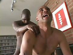 Dual black gentlemen take part in bury the bone in 6 movie