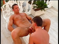 Sexy homo guys end up covered in jizz in 4 episode
