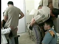 Moist fruit policemen uniform porn massive orgy in 7 motion picture