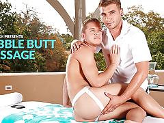 Bubble Anus Massage
