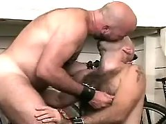 Bear twinks play with tongue and take in every other