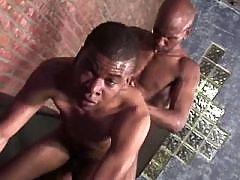 Filthy brown gay gets slammed heavy