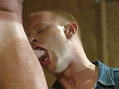 Hot fruit stud sub mouths appetizing cock